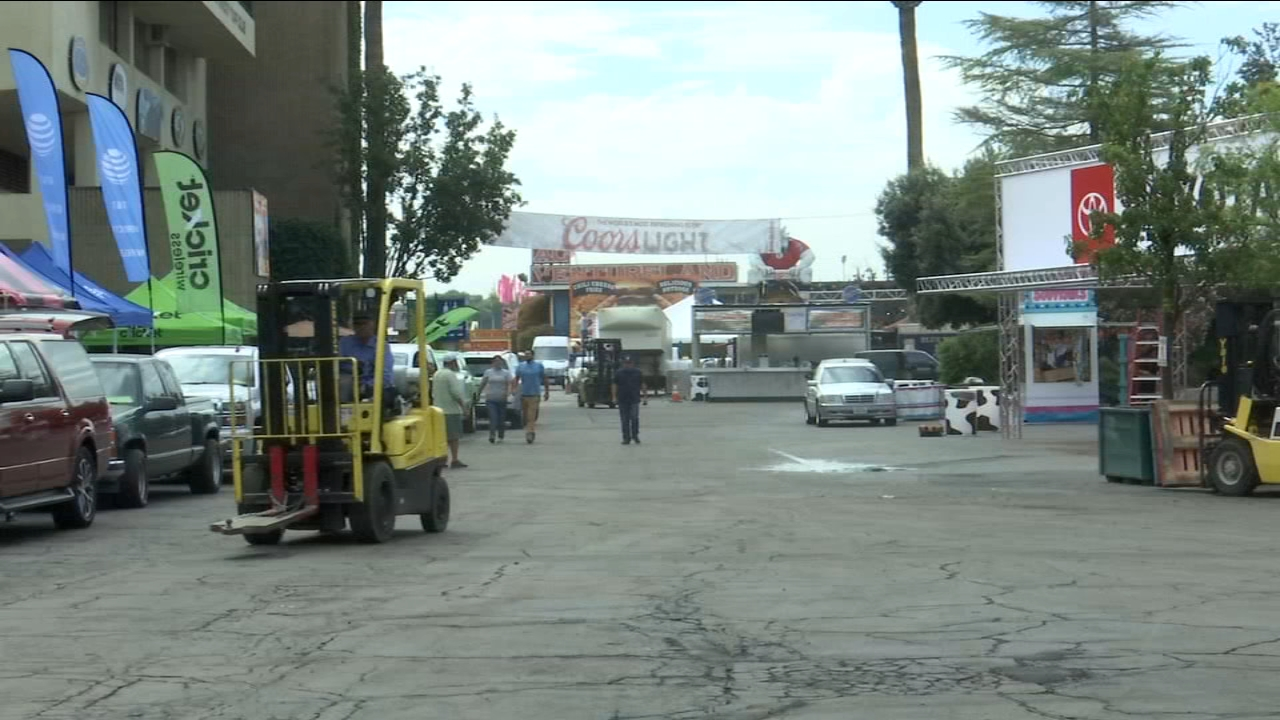 Big Fresno Fair carnival rides and food vendors go through inspections