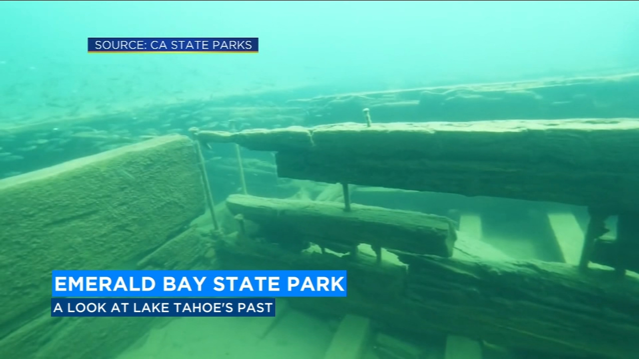 Experience Californias first underwater trail in Lake Tahoe