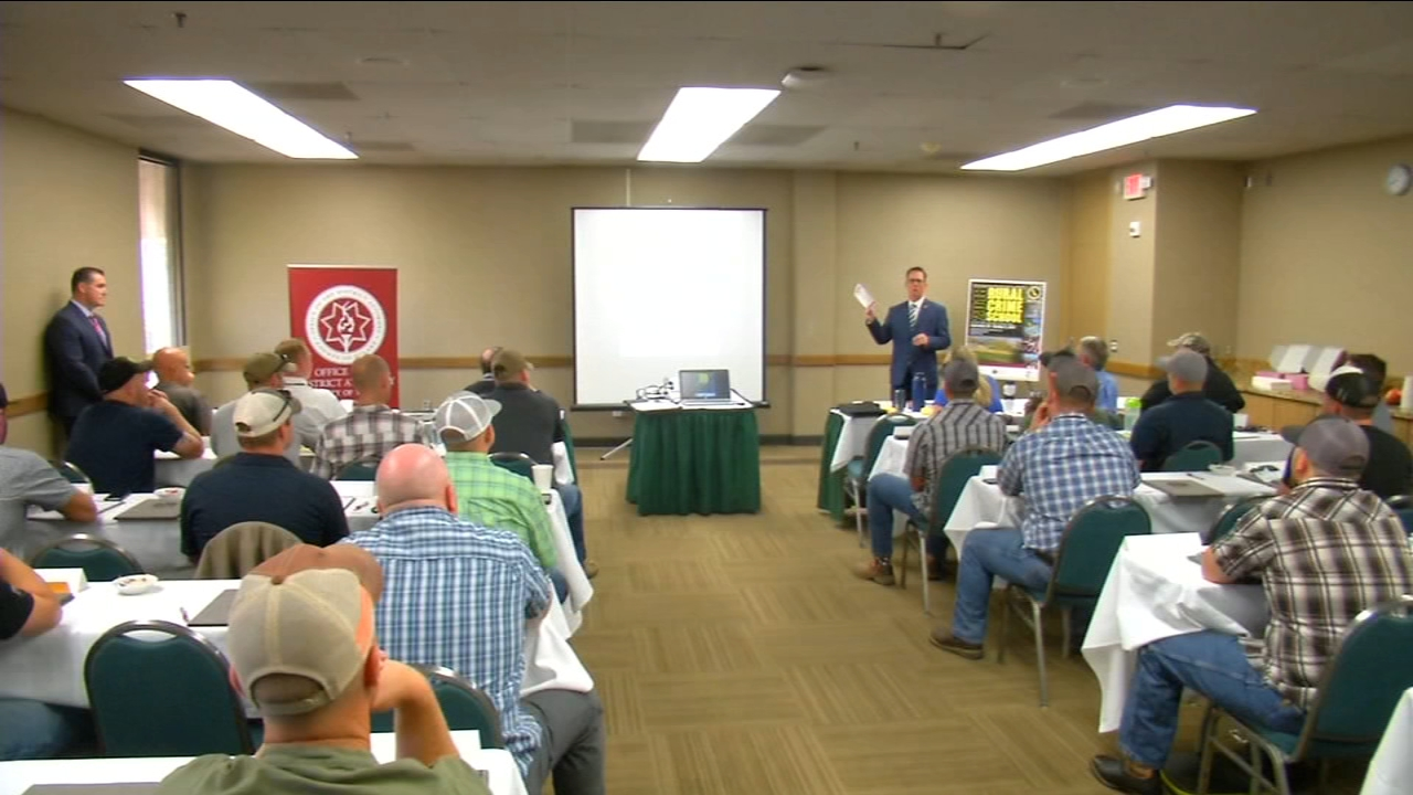 Law enforcement members from around the state are in Tulare County this week, for a very specialized type of training.