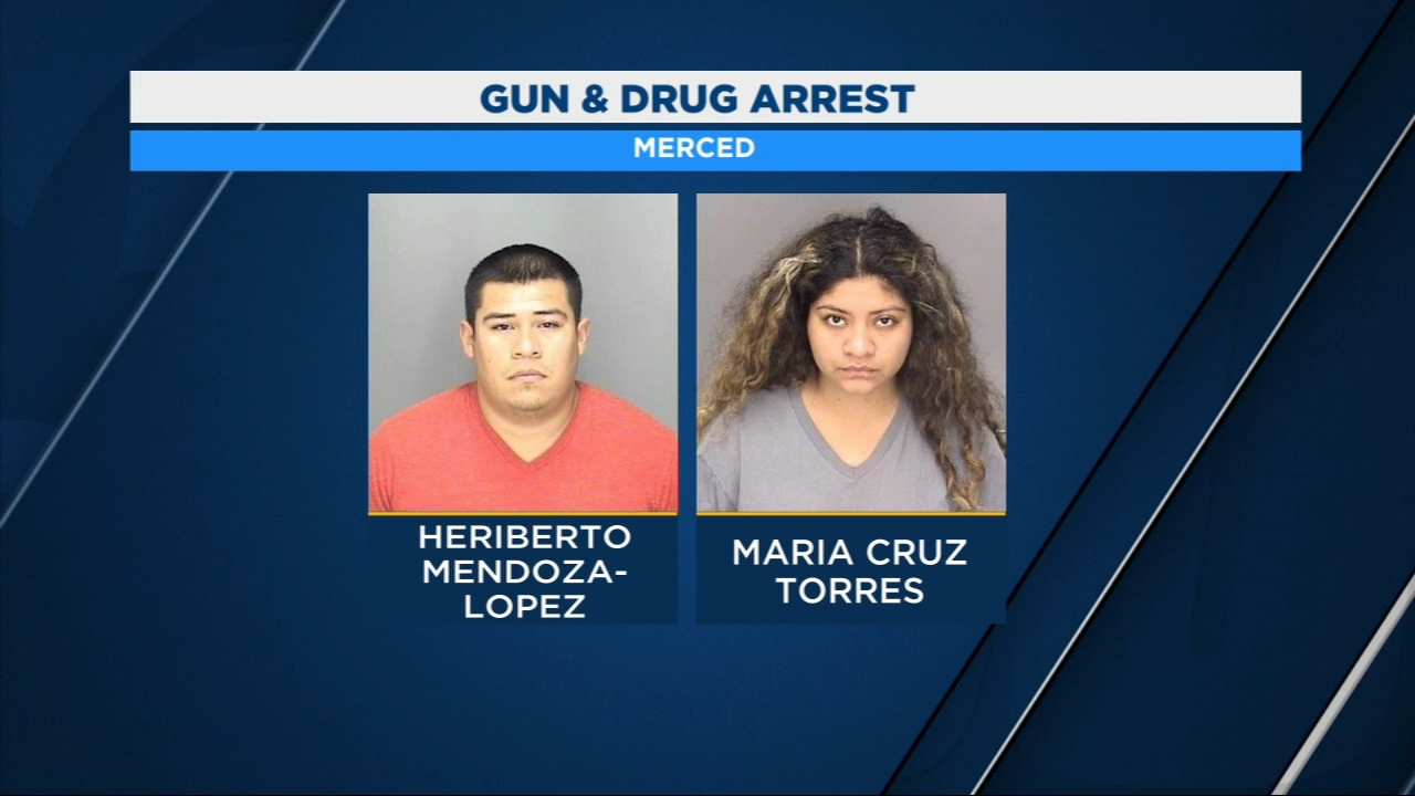 Police arrested Heriberto Mendoza-Lopez and Maria Cruz Torres.
