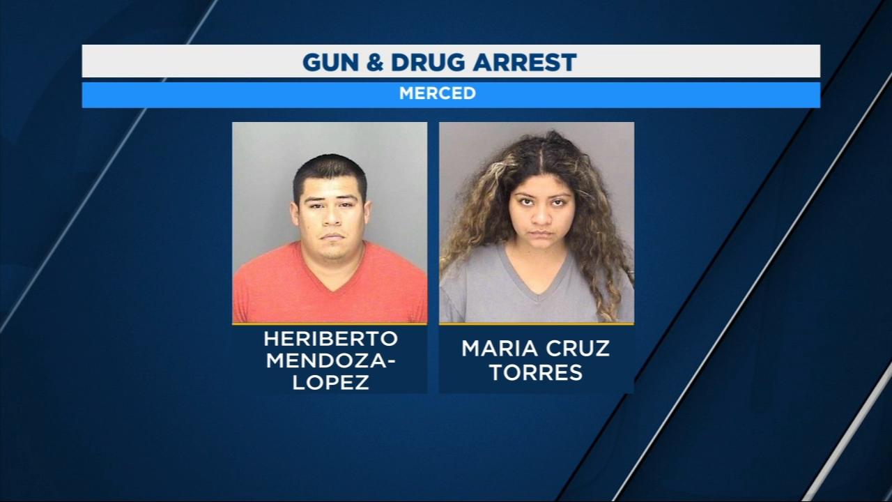 Police arrested Heriberto Mendoza-Lopez and Maria Cruz Torres.