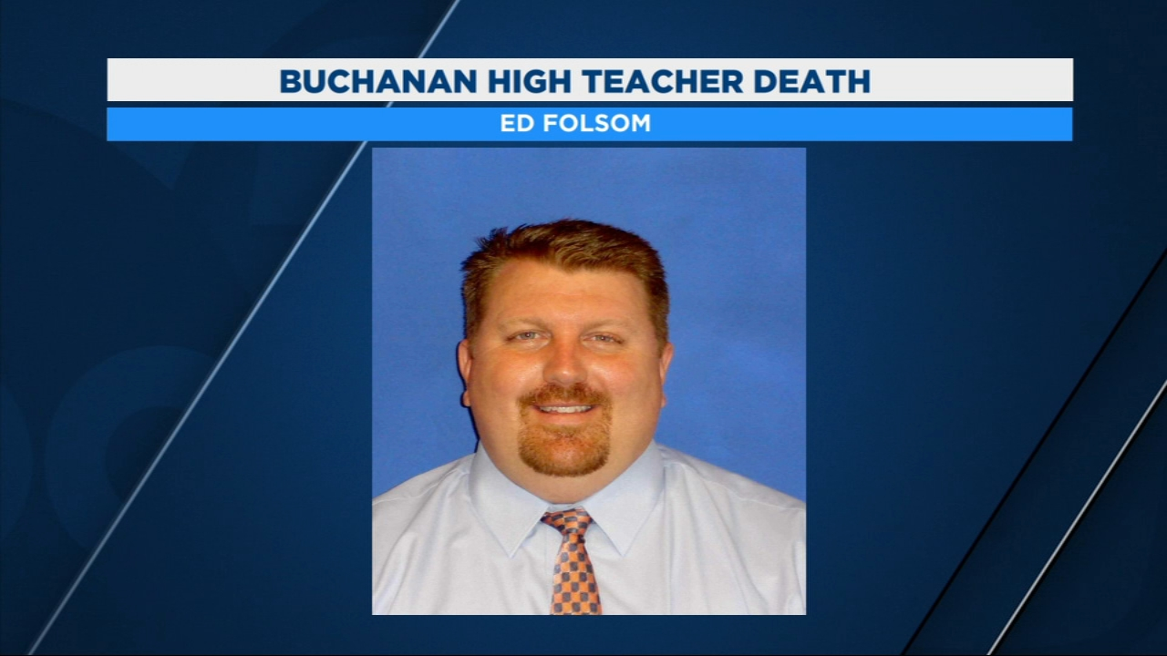 The district says 48-year-old Ed Folsom passed away Monday night from an illness.