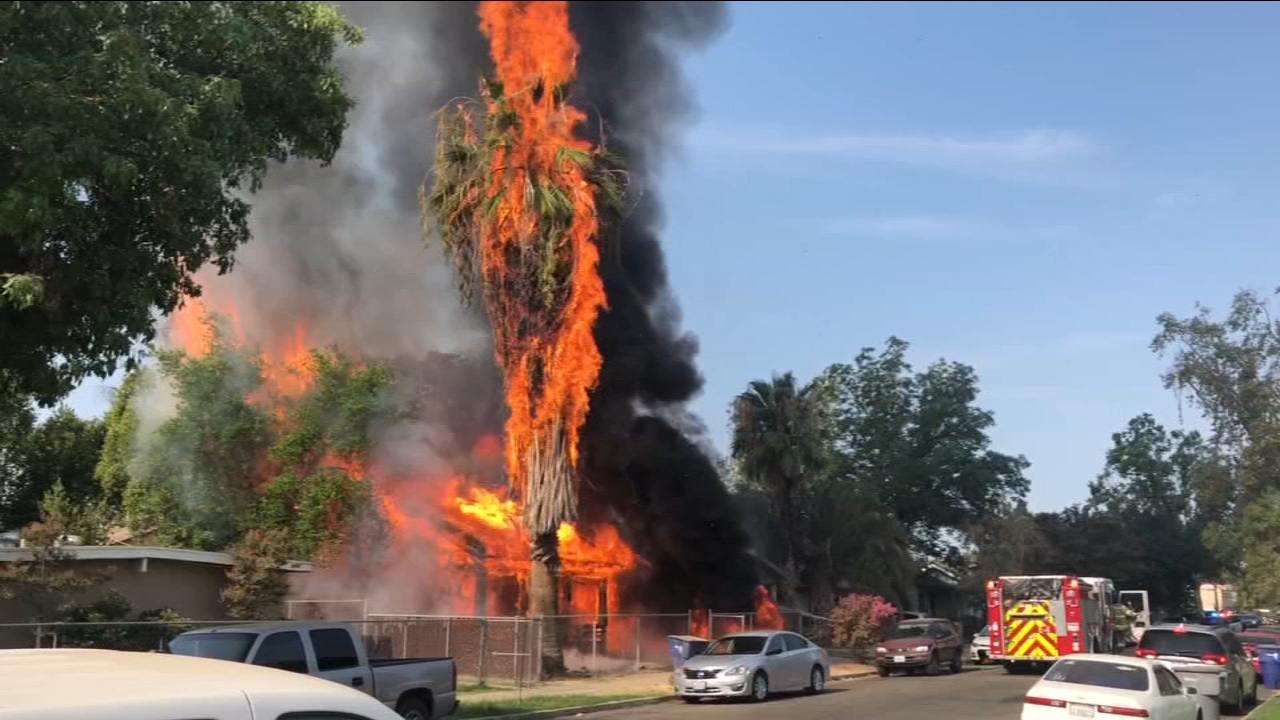 Vacant building fires becoming an increasing problem for Fresno Fire