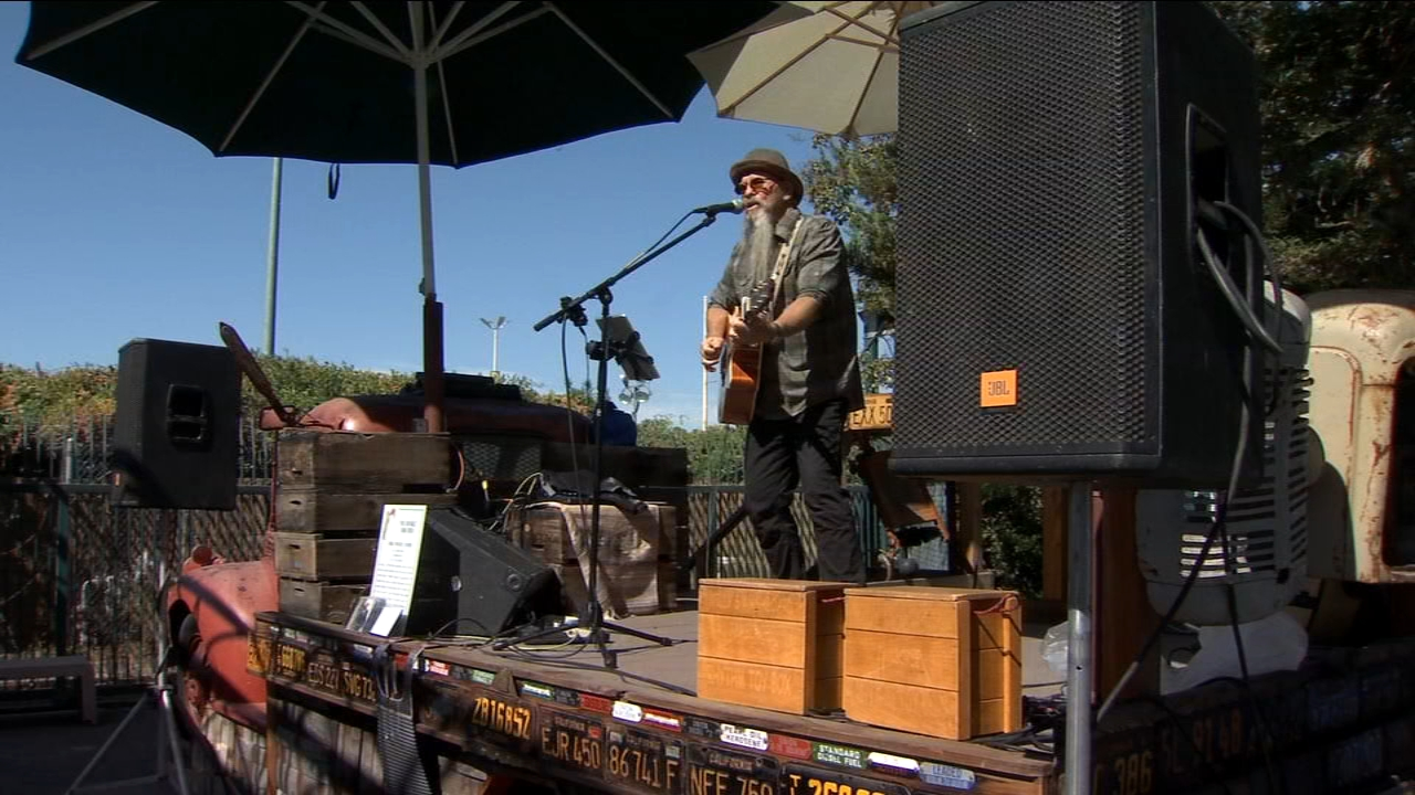 Local performers taking the stage at the Big Fresno Fair