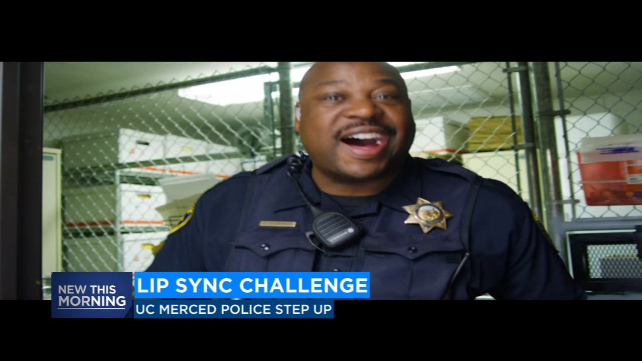 UC Merced Police Department takes on Lip Sync Challenge with some dance classics.