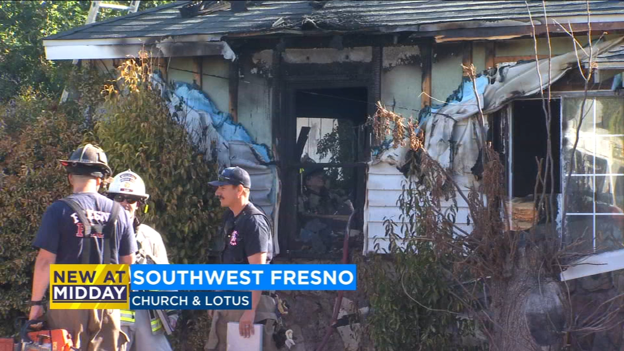 Firefighters were called to the scene just before 8:30 a.m. on Friday at Church and Lotus.