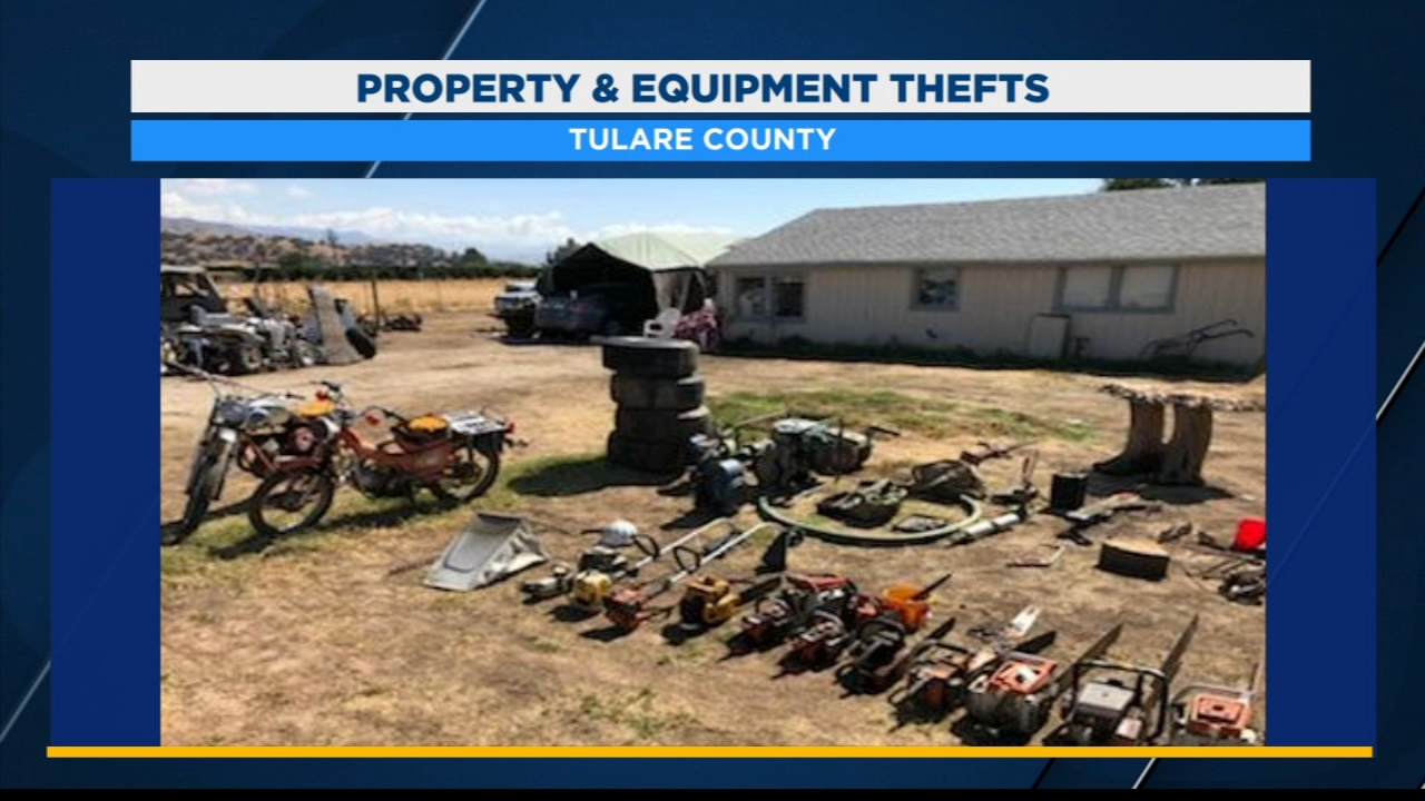 Two men arrested for $26,000 property and equipment thefts