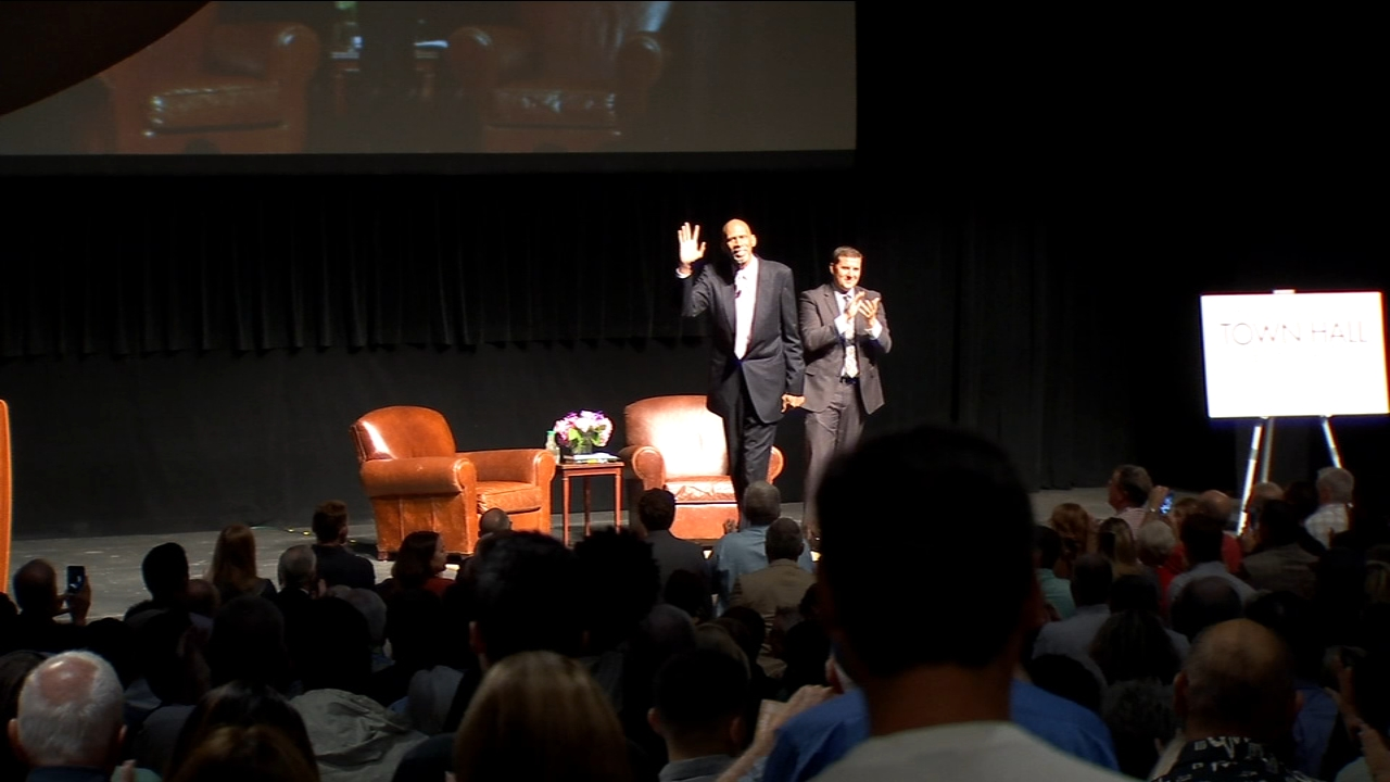 NBA legend Kareem Abdul-Jabbar makes stop in Fresno to talk leadership