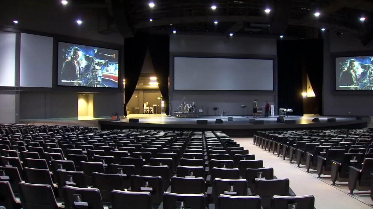 A Visalia church shows off its new sanctuary