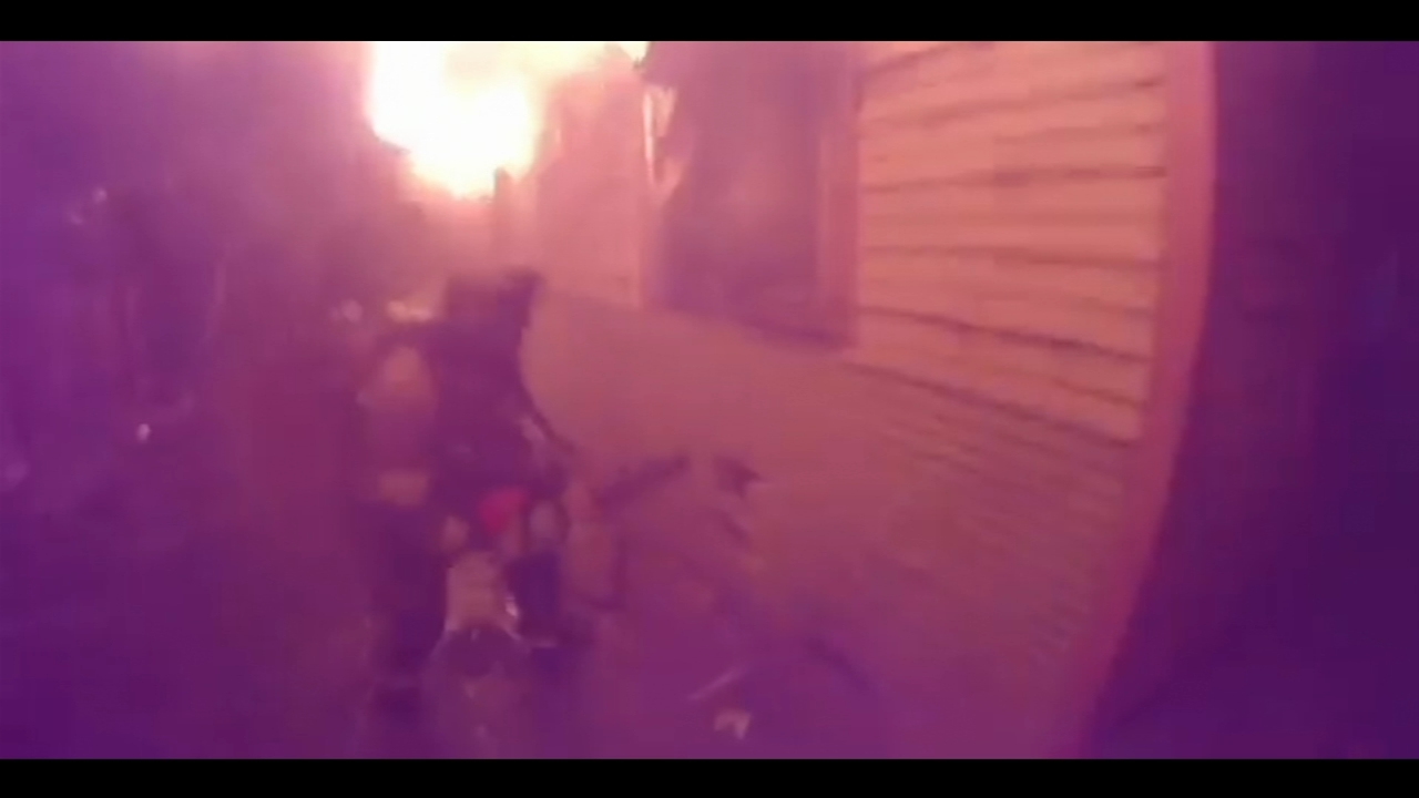Fresno Fire releases helmet cam video of house fire rescue