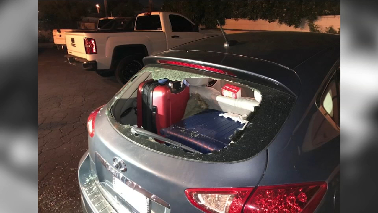 A Fresno restaurant is bringing in armed security after a series of car burglaries in their parking lot.