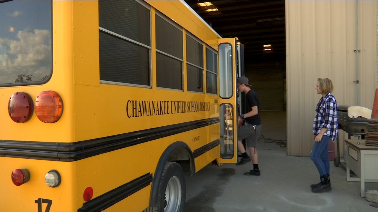 Minarets High School looking to transfrom bus into mobile production van