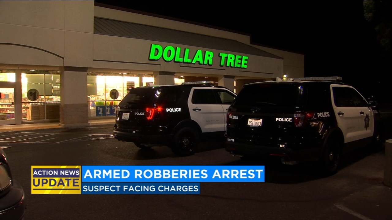 Man connected to series of armed robberies arrested