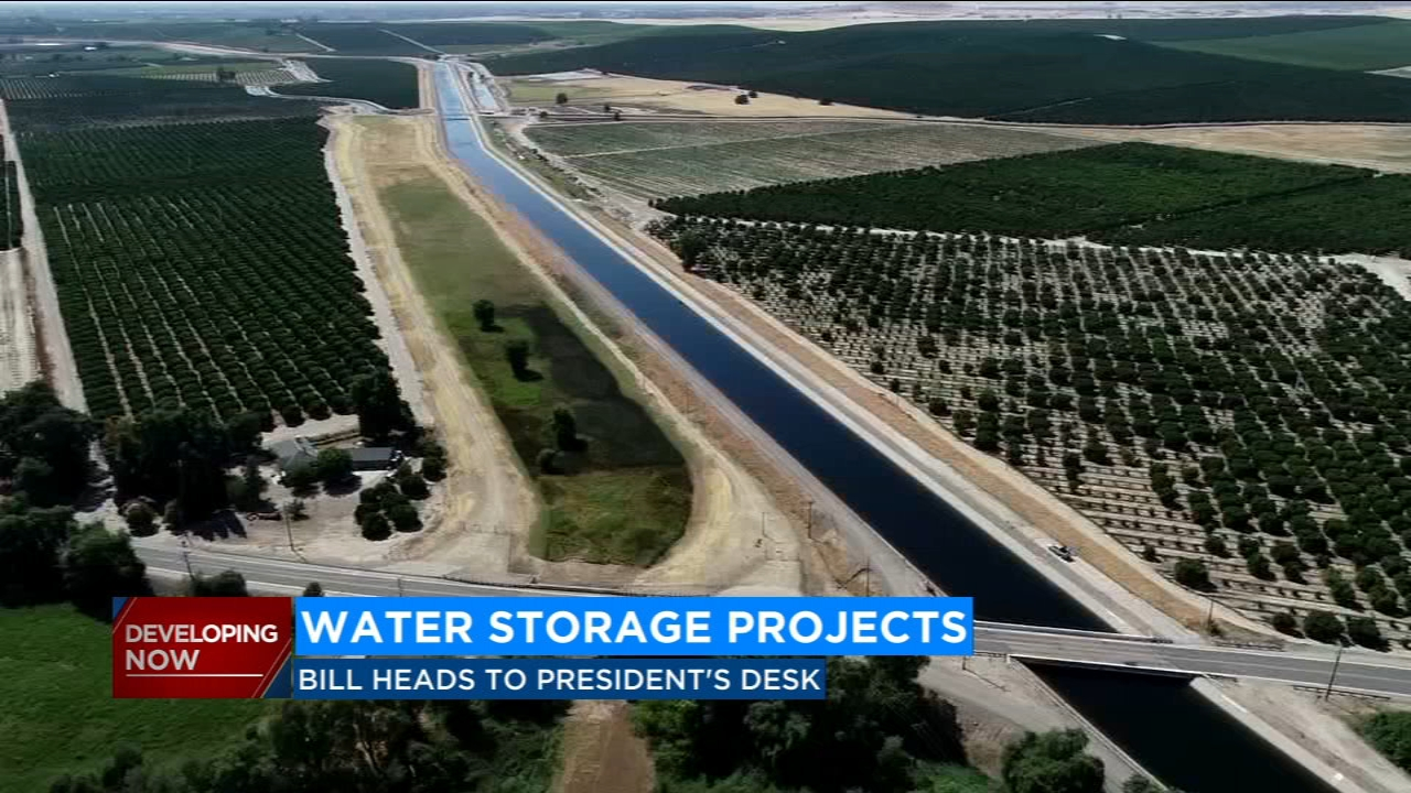 California might see construction on water storage
