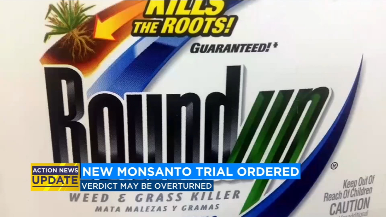New trial ordered in $289 million Monsanto case