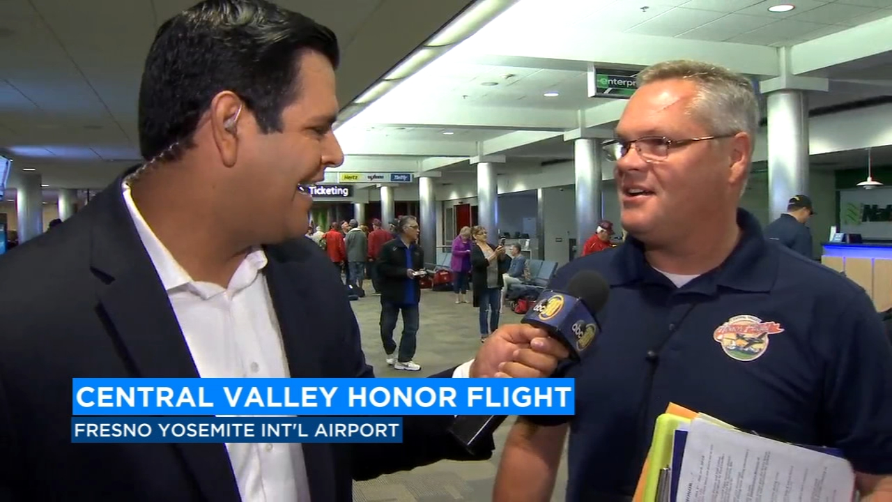 68 Valley veterans prepared for the trip of a lifetime, as the Central Valley honor flight took off for its final flight of the year from the Fresno Yosemite International Airport.