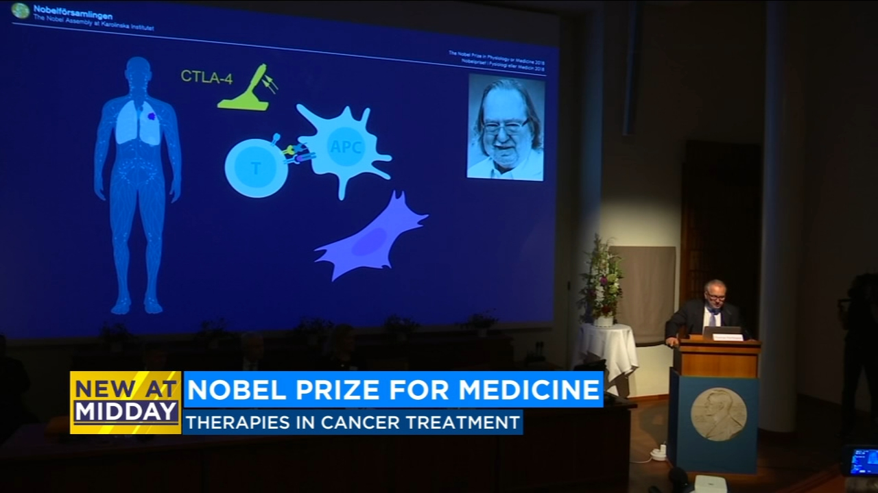 A former U.C. Berkeley scientist is one of two people awarded the Nobel Prize in Medicine.
