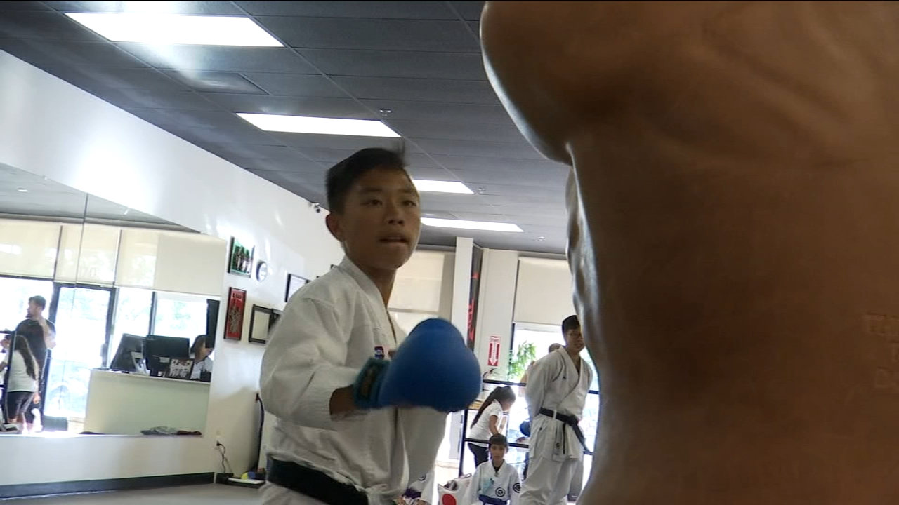 Good Sport: Local 8th grader making his mark in the world of Karate