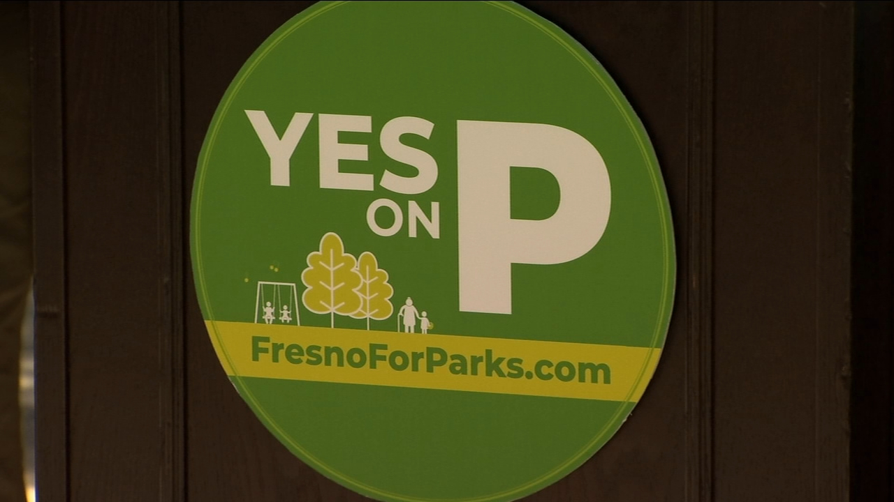 Community members gather to support Measure P