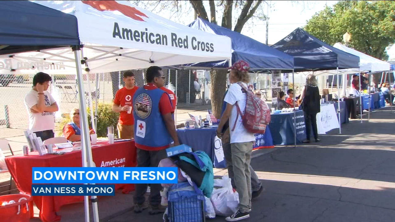 The Mid Cal Veterans Engagement Board hosted a community outreach for Central Valley Veterans in Downtown Fresno.