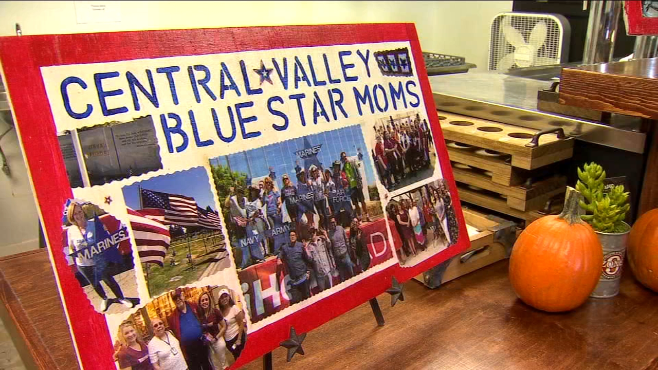 Central Valley Blue Star Moms collecting donations for Remember the Troops Package Drive