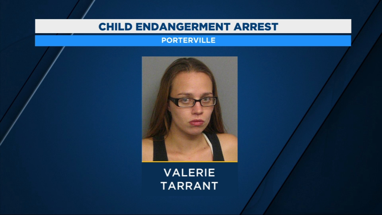 Porterville mother arrested for child endangerment