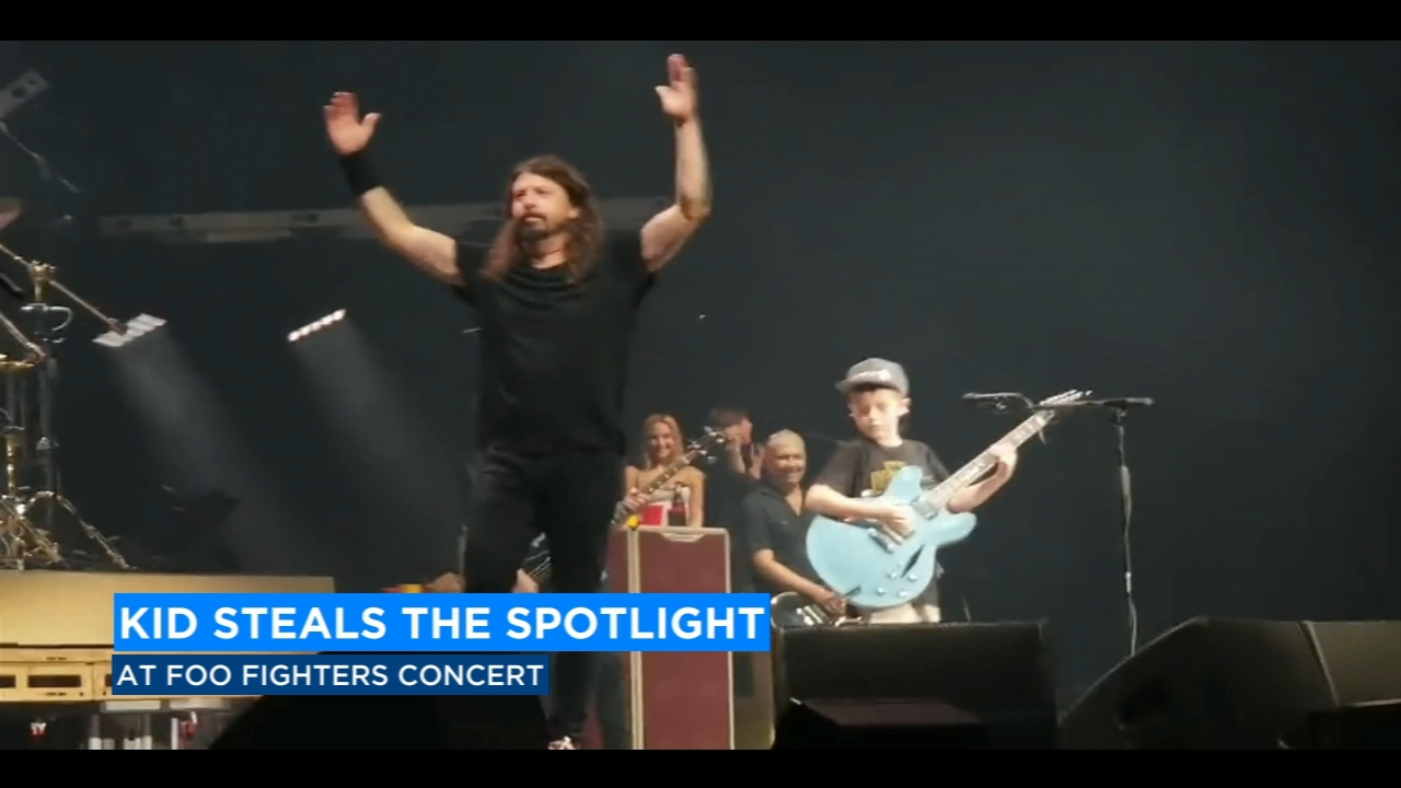 10-year old musician wows Foo Fighters front-man Dave Grohl