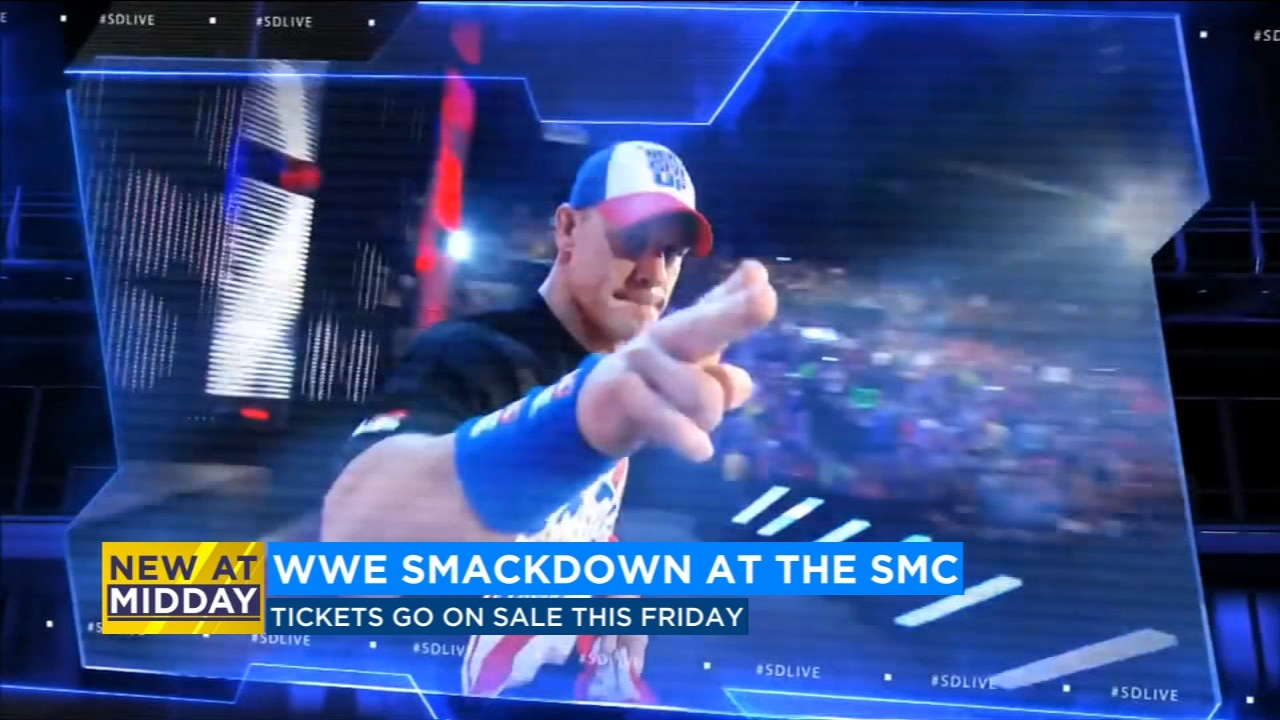 WWE will bring the Smackdown to the Save Mart Center
