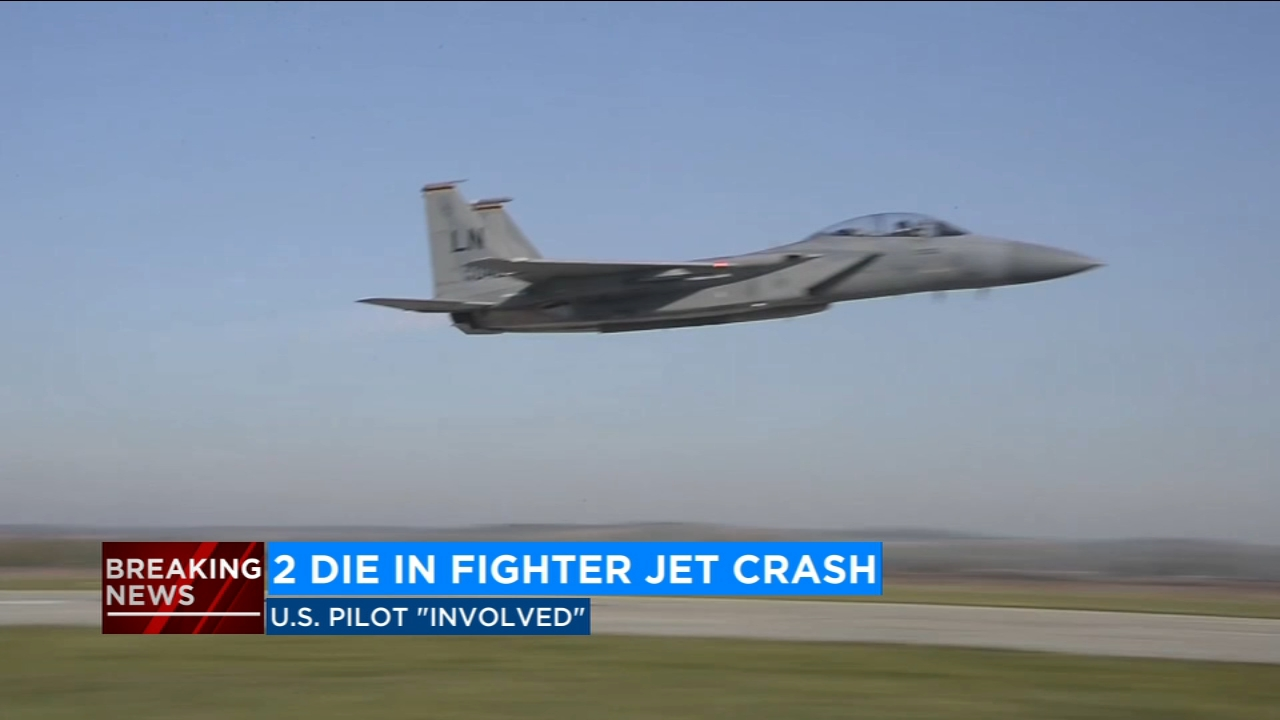Crash kills 2 in Ukraine during training with 144th Fighter Wing