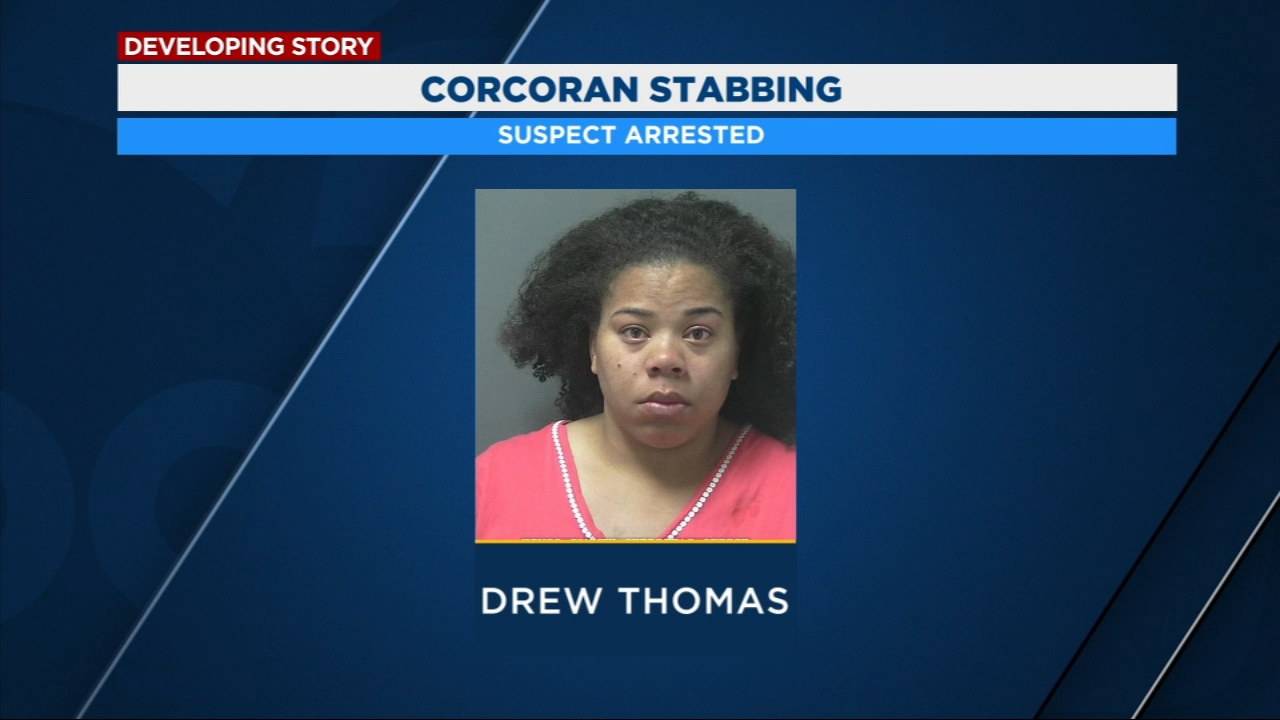 Corcoran woman arrested for stabbing boyfriend in the chest