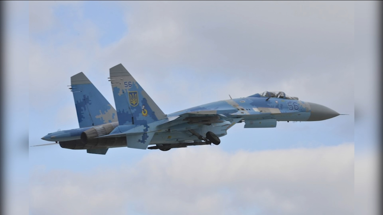 Fighter jet crash kills 2 in Ukraine during training with 144th Fighter Wing from Fresno, US pilot involved