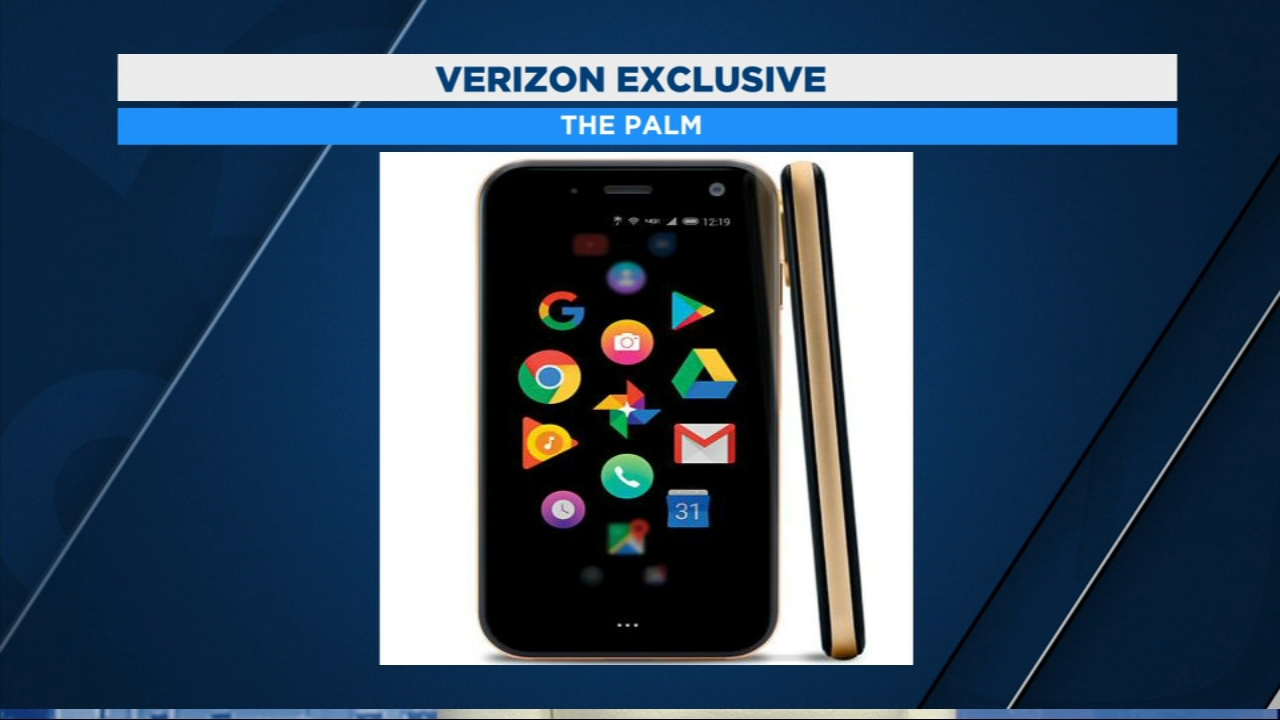 Verizon Palm is designed to you off your phone