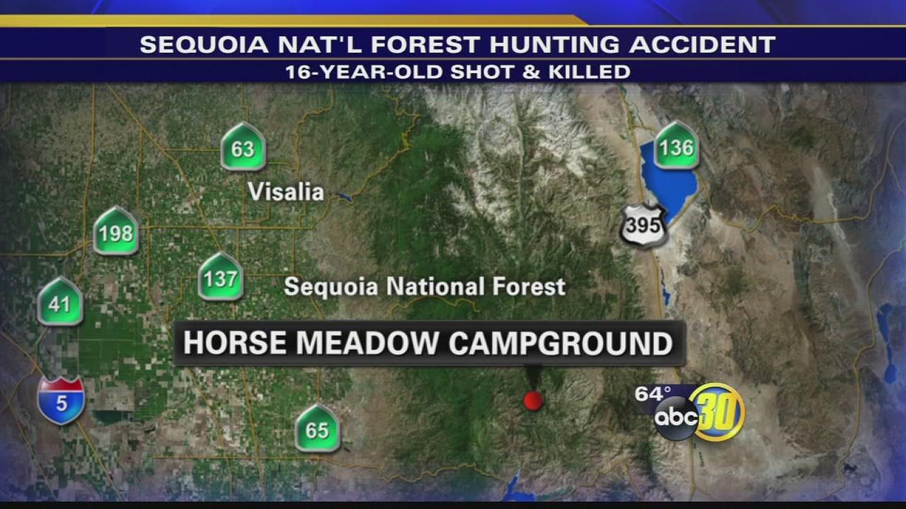 16-year-old boy killed in hunting accident