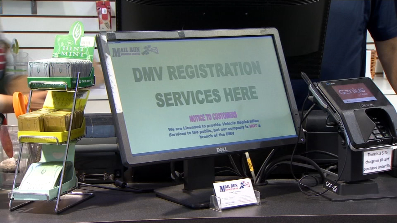 To help relieve long lines and wait times at the Department of Motor Vehicles businesses in California can now apply for a license to provide most DMV Service.