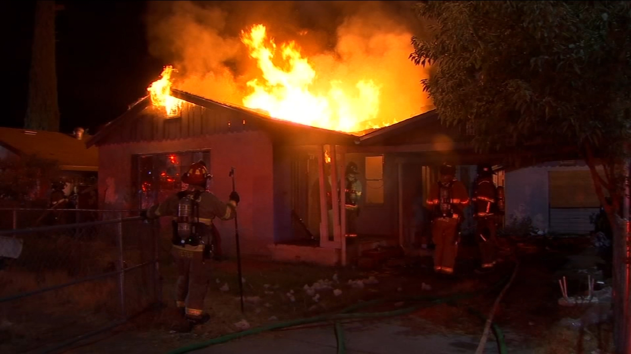 Vacant house fires becoming a problem in Fresno