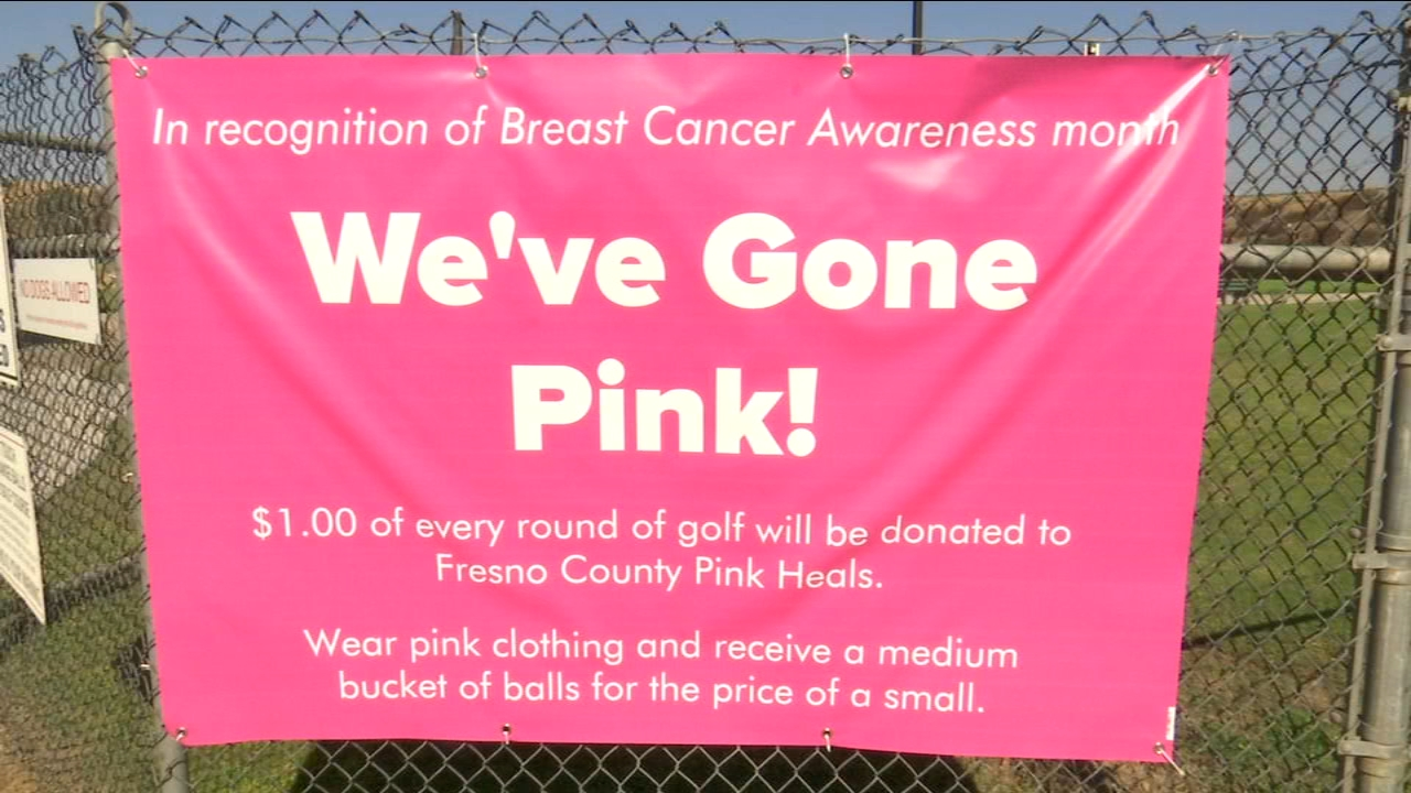 Valley Golf Center donating $1 for every round of golf played to Pink Heals