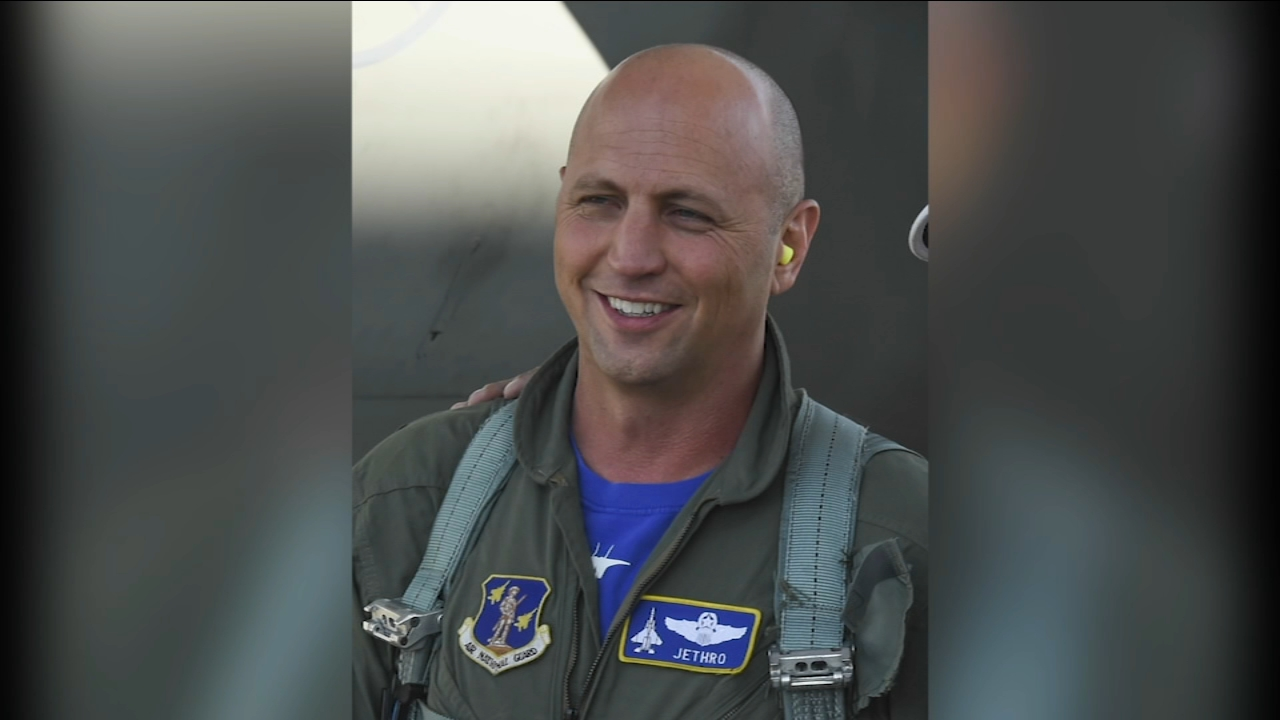 Lt. Col. Seth Jethro Nehring, 44, was killed while taking part in a familiarization flight in a Russian-built Su-27UB fighter jet with a Ukrainian counterpart during a joint mili