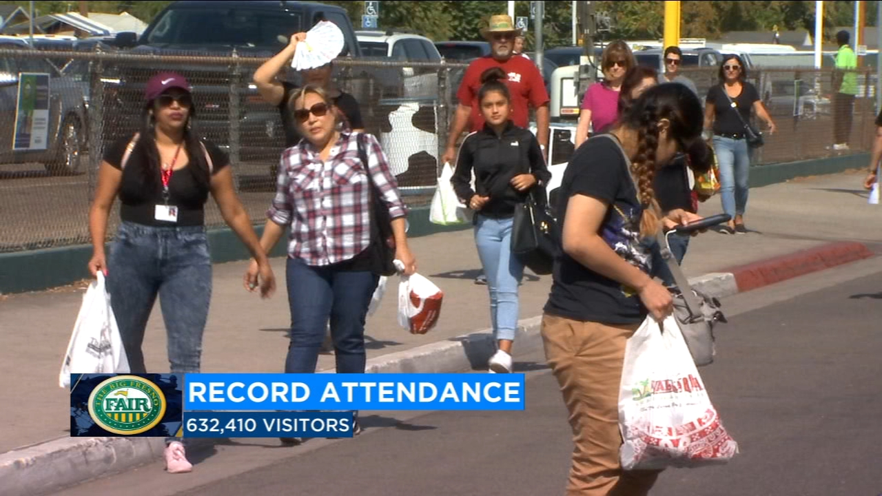 Record breaking attendance at the Big Fresno Fair