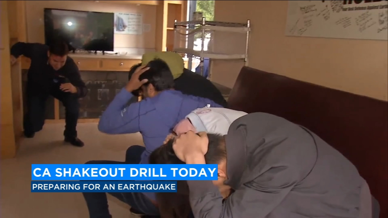 Millions of people across the state participated in the tenth annual Great California Shakeout Drill.