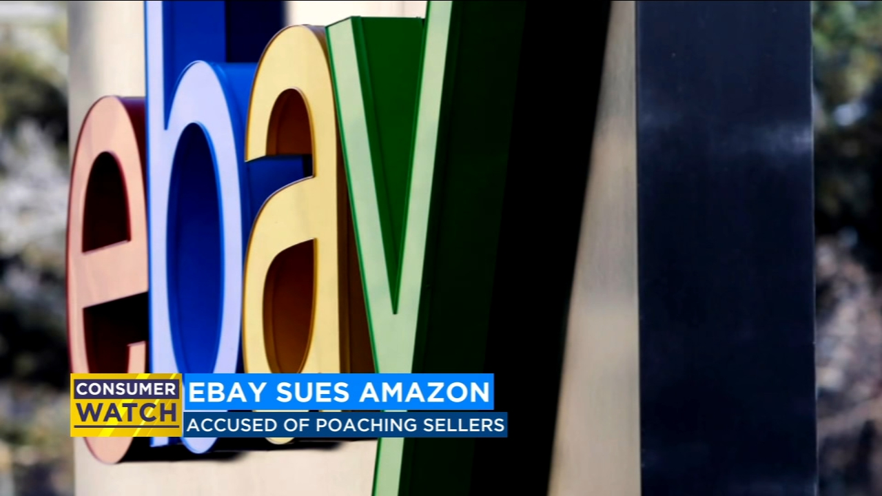 Consumer Watch: Ebay sues Amazon