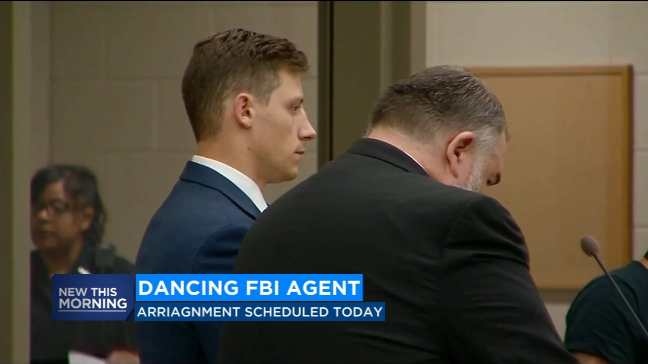 FBI agent who accidently shot man on the dance floor arraigned today.
