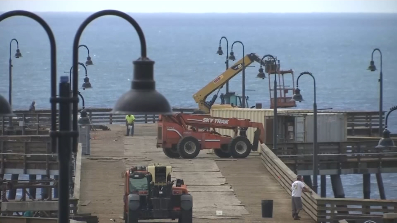 Pismo Beach Pier reopening after completion of $8 million restoration project