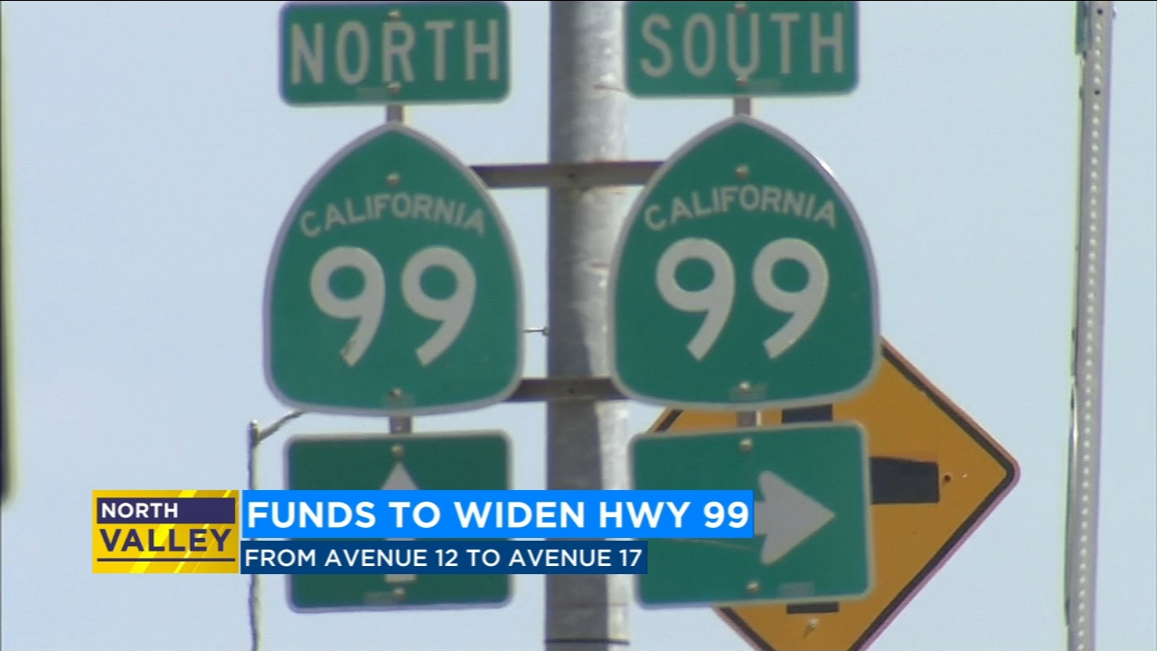 $84 million approved to widen Highway 99 through Madera