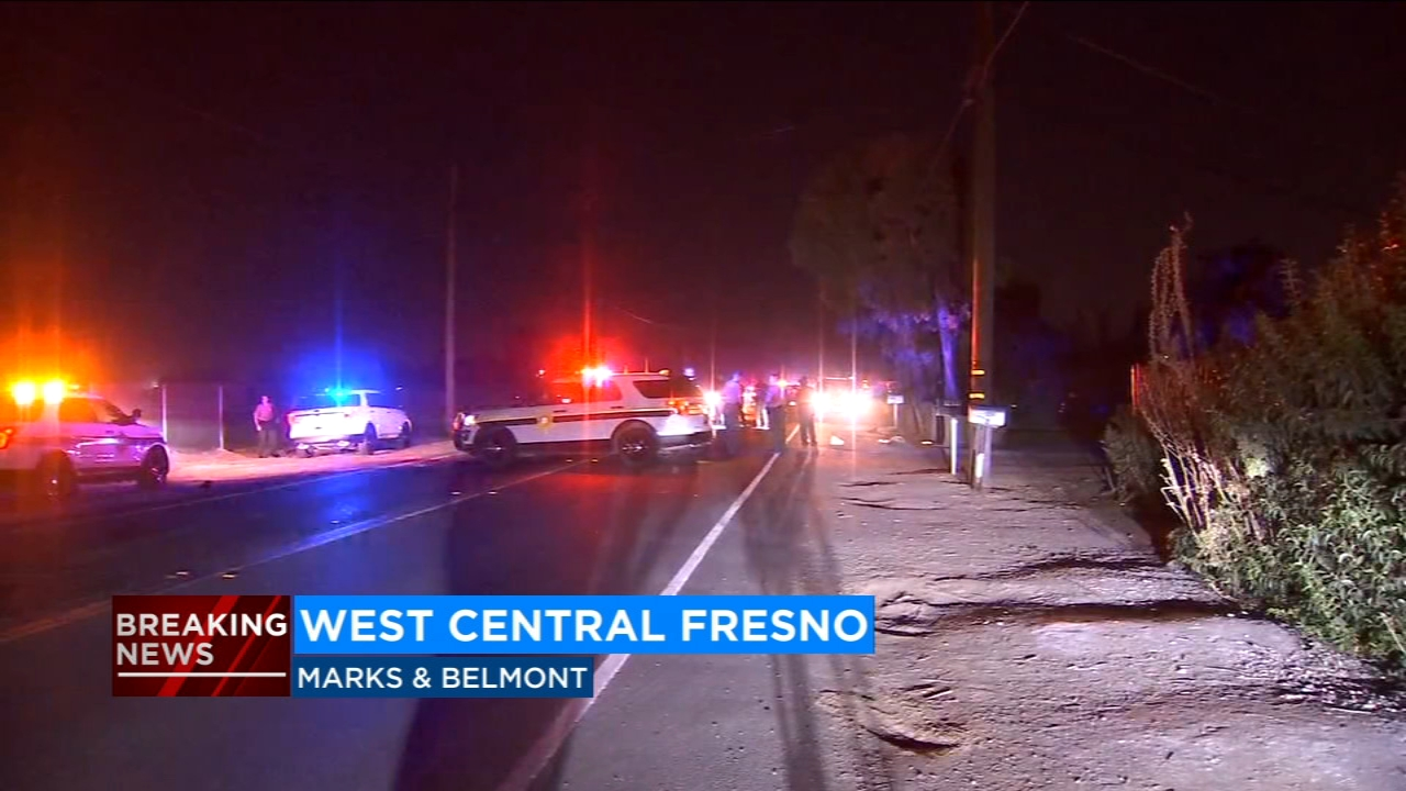 California Highway Patrol officers say the victim is in critical condition, and that he sustained serious injuries to his head from the collision.