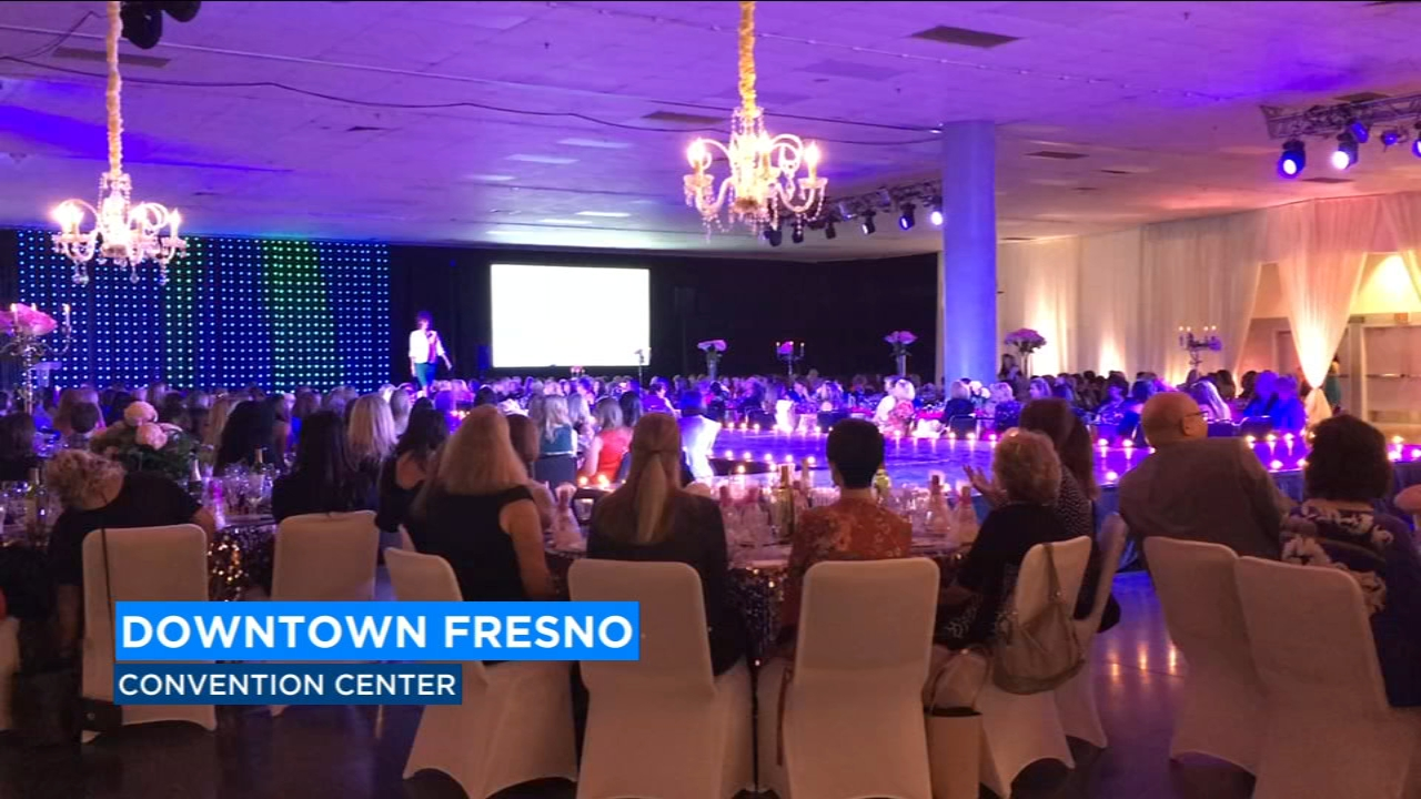 There was a live auction and money raised will help the Holy Cross Center for Women.