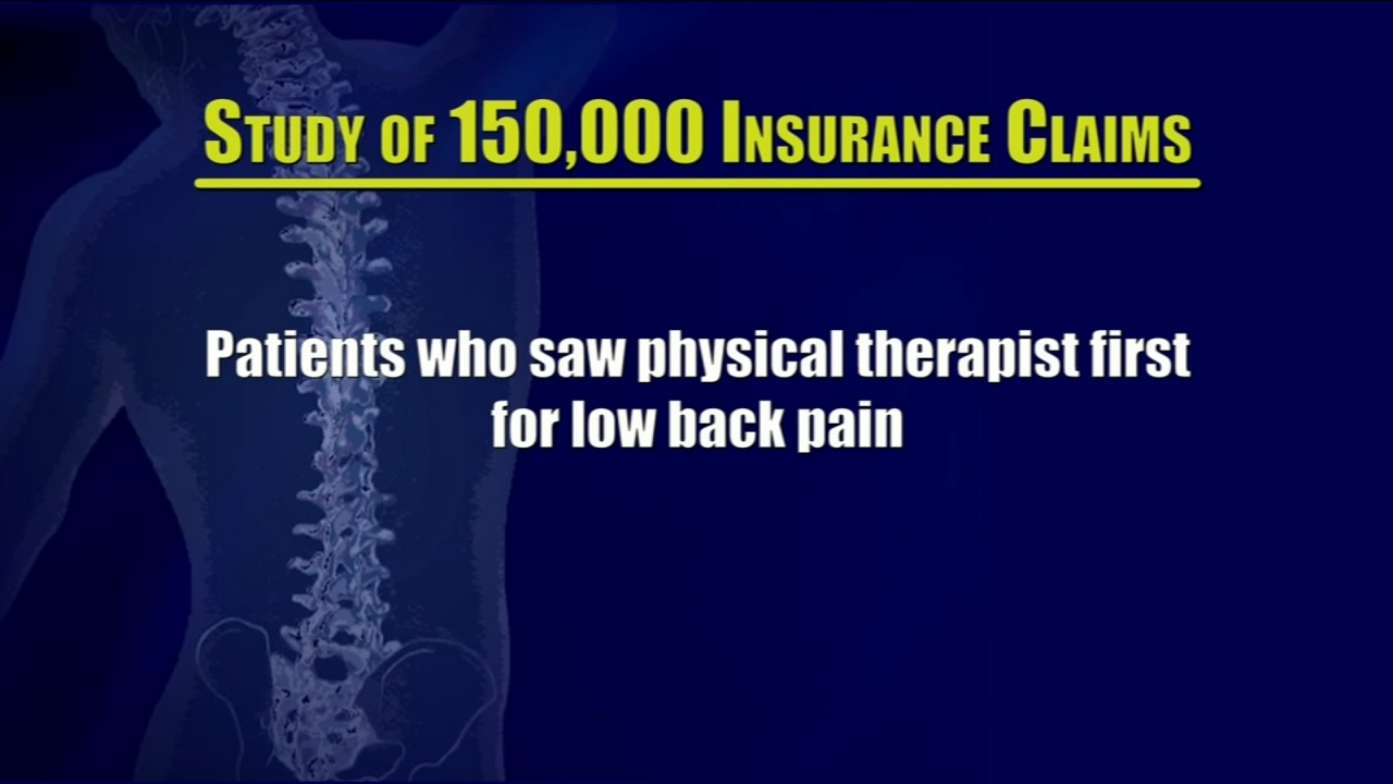 Health Watch: Rethinking treatment for low back pain