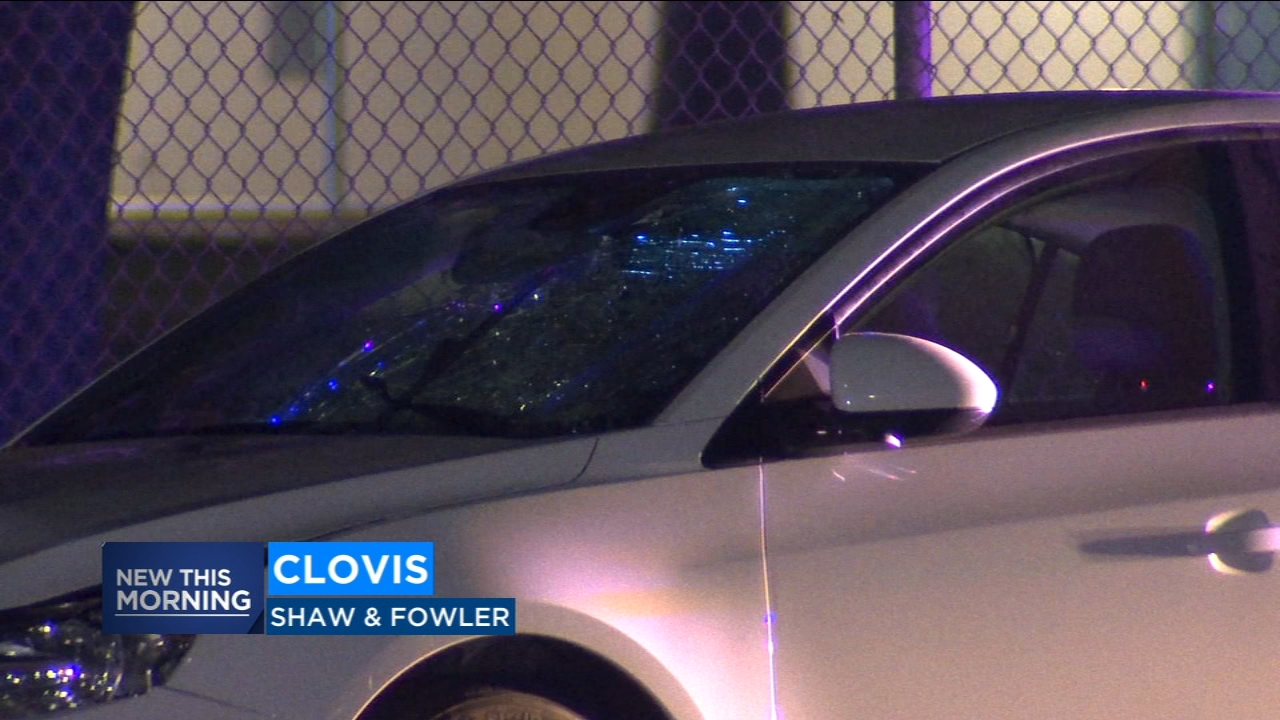 Two hit by car in East Clovis