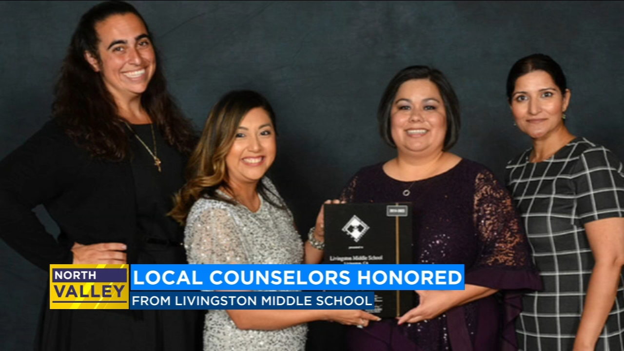 Merced County middle school recognized for counseling program