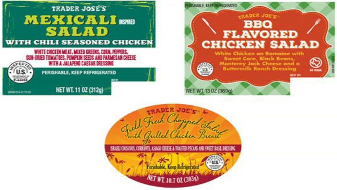 Trader Joes recalls salads