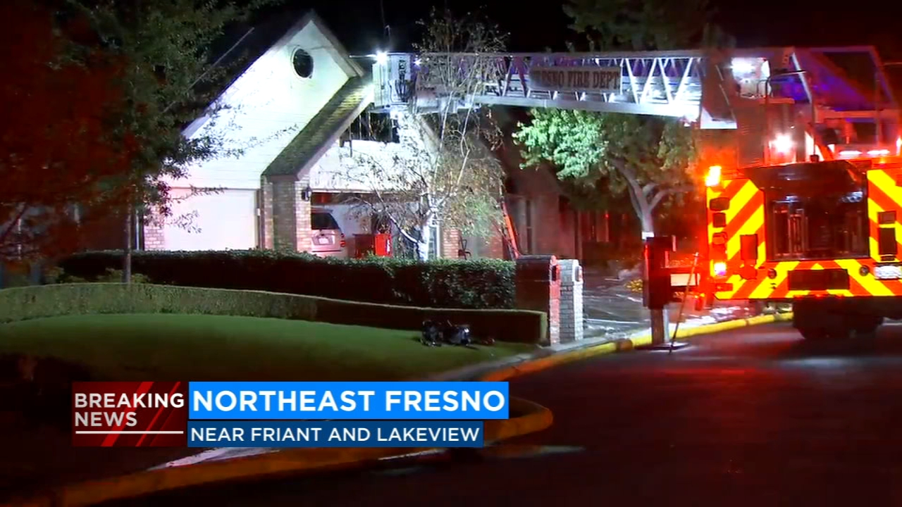 Man sets Northeast Fresno home on fire after using blowtorch to kill spiders
